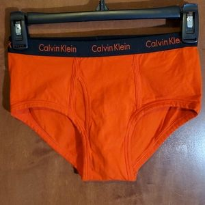 Calvin Klein Red Fly Briefs - XS